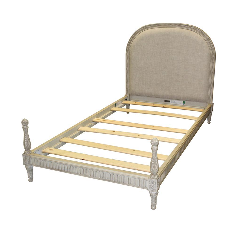 Restoration Hardware Twin Upholstered Bed