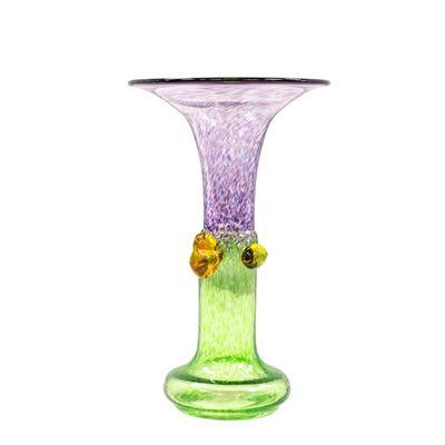 Bertil Vallien Wind Pipes Glass Vase