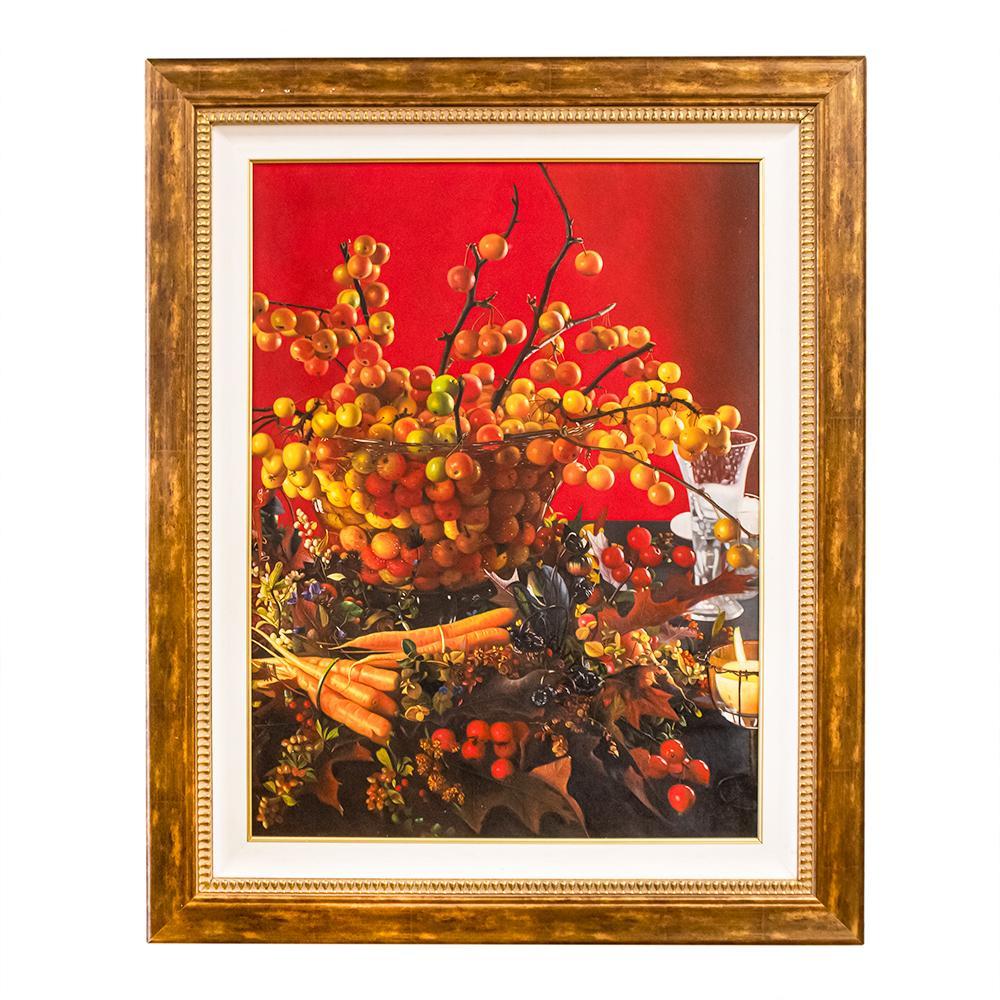 Framed Cherry Giclee Print