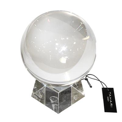 Tahari Home Crystal Globe with Stand