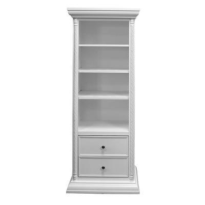 Custom White Bookshelf