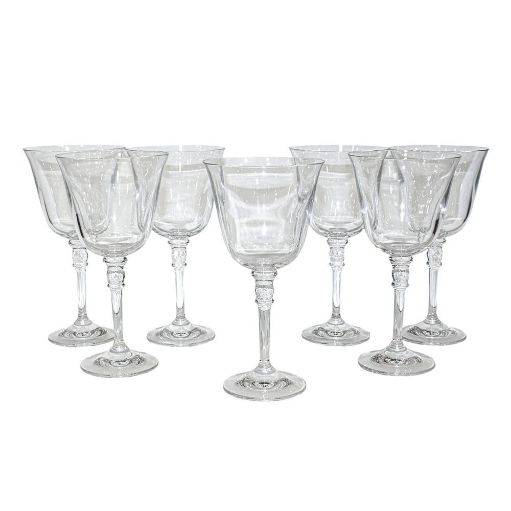 Ralph Lauren Set Of 7 Crystal Water Stems