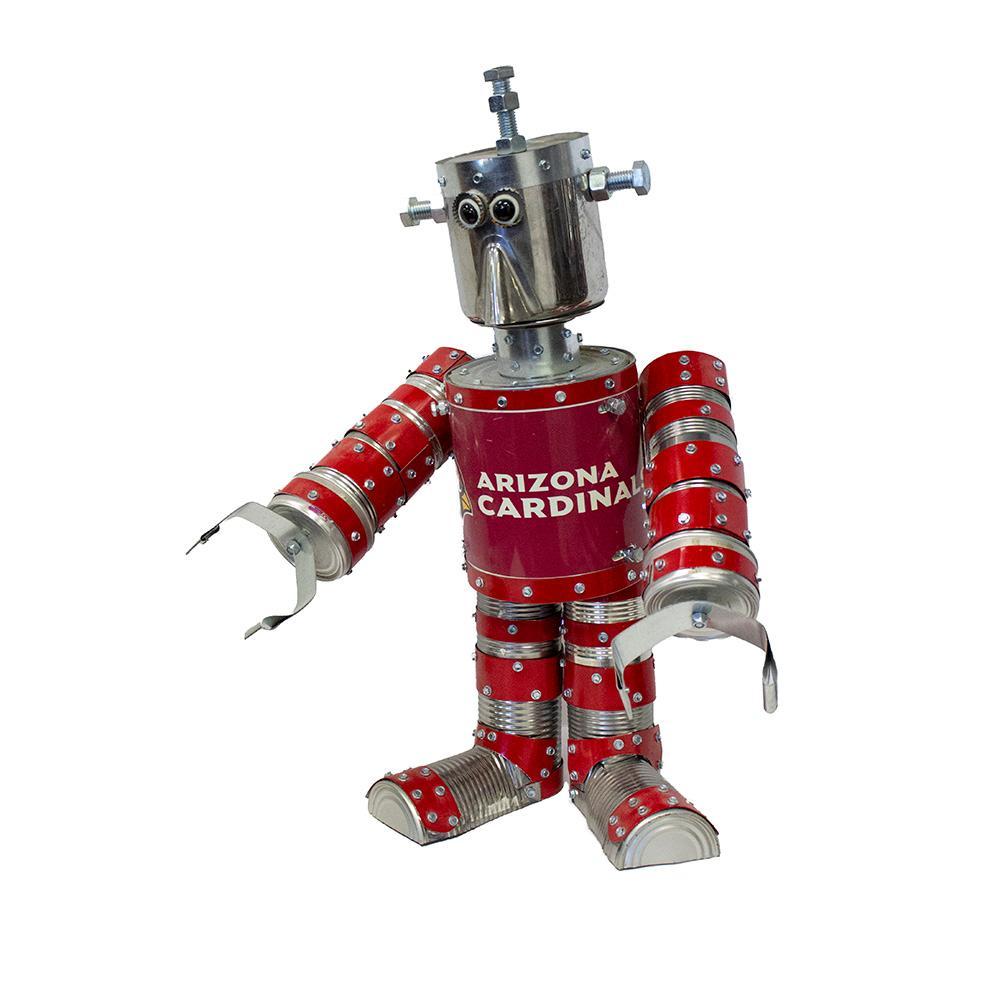 Cardinals Tin Robot By Alexi Devillers