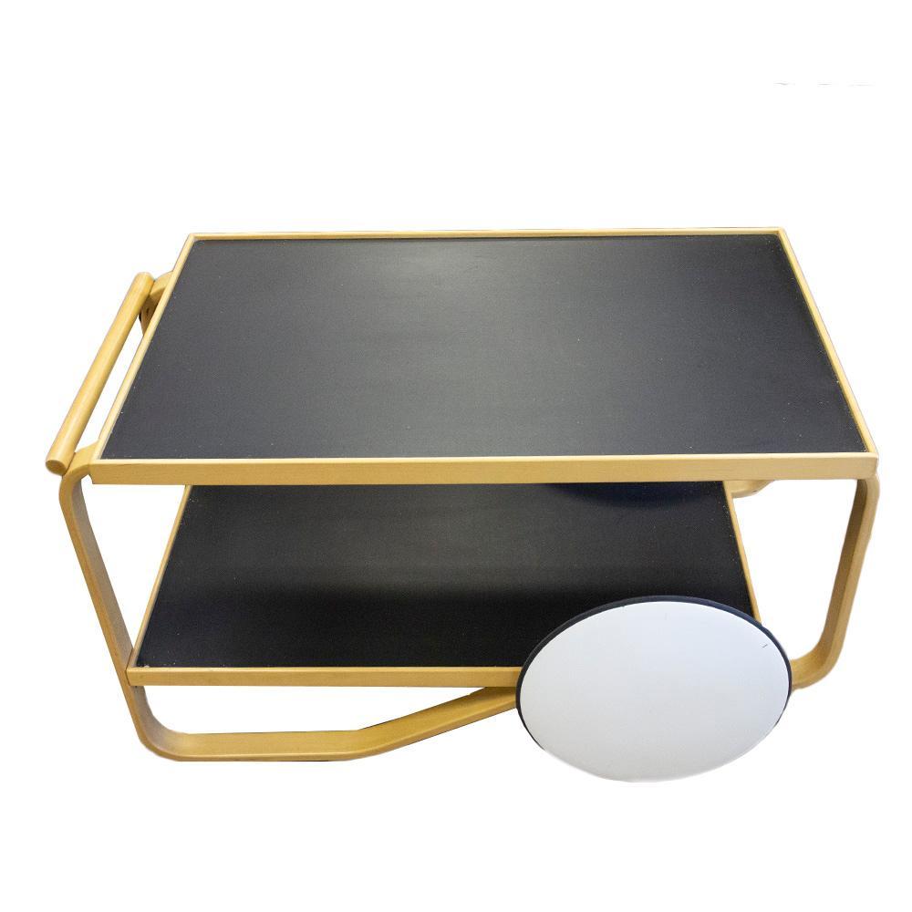 Artek Alvar Aalto Inspired Tea Cart