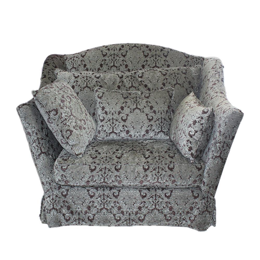Custom Design Damask Pattern Chair