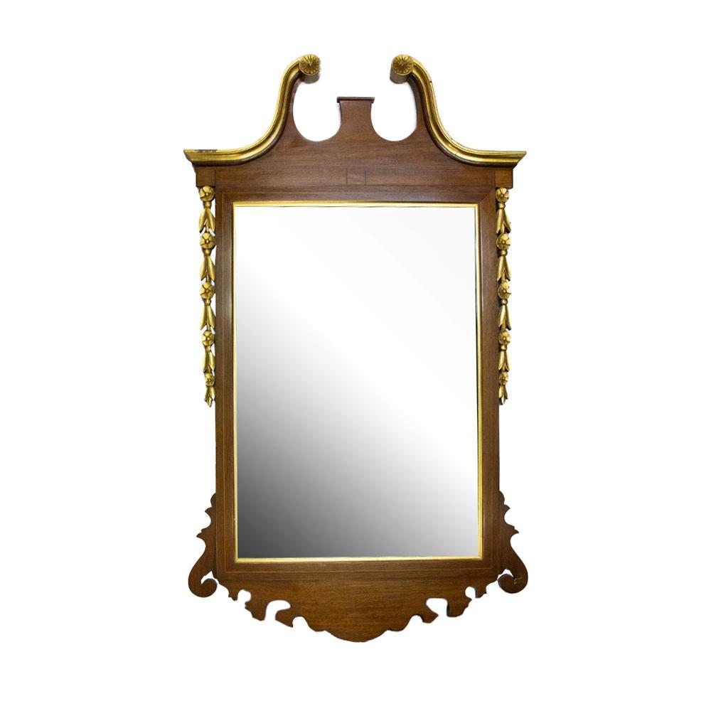 Georgian Portrait Mirror