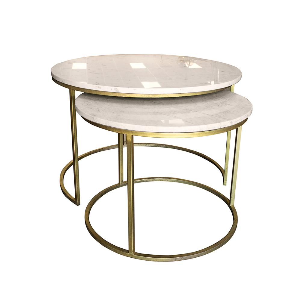 Delaney Marble Top Coffee Tables