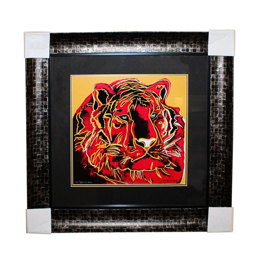 Andy Warhol Siberian Tiger Print