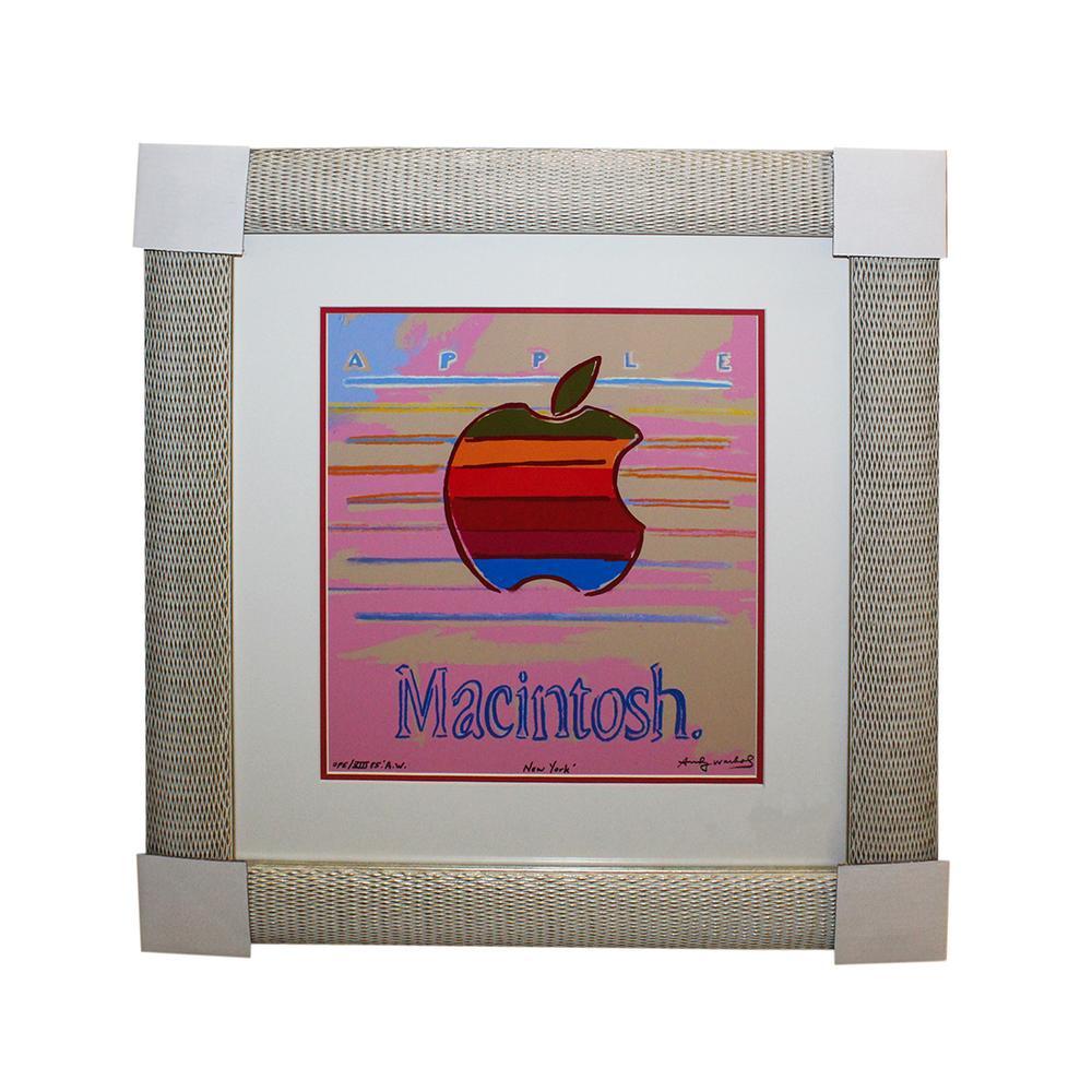 Andy Warhol Apple Print