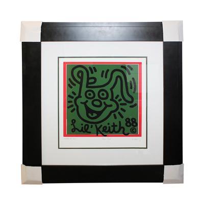 Keith Haring Lil Keith 1988 Print