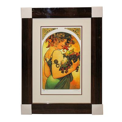 Alphonse Maria Mucha Fruit Print
