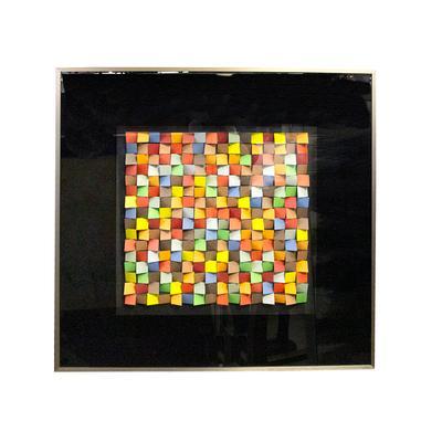 Cicero Silva 3D Cubed Art Piece