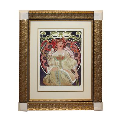 Alphonse Maria Mucha Reverie Print