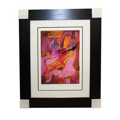 De Kooning Pink Angels Print