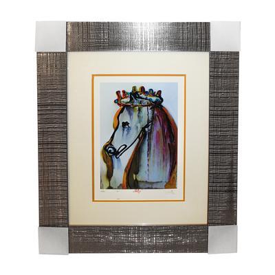 S. Dali Caligula's Horse Print