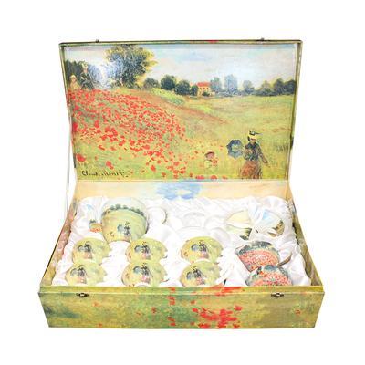 Set of 15 Stockol Monet Tea Set in Box