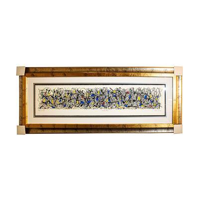 J. Pollock Summertime Print