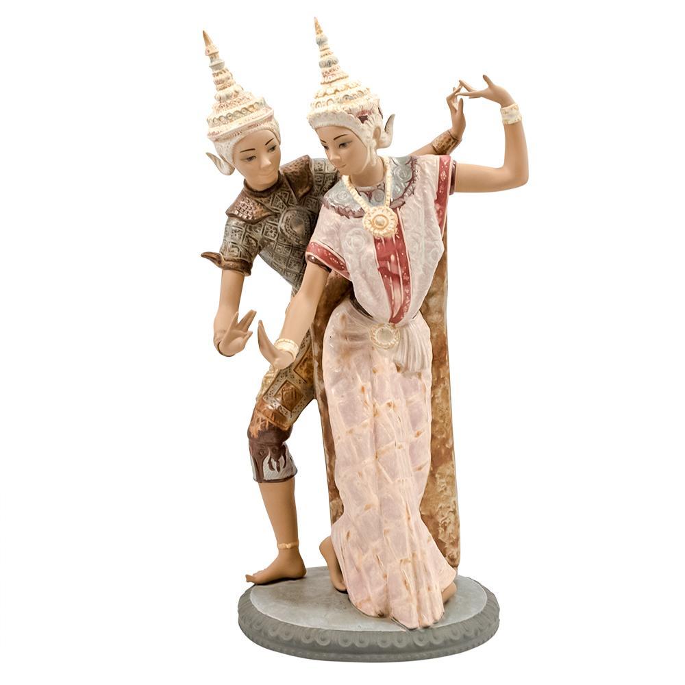 Lladro Thai Dancing Couple