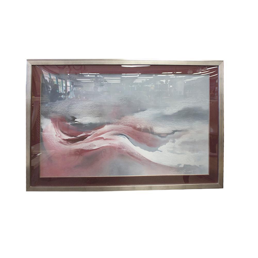 Vance Larson Original Signed Pastel Artwork