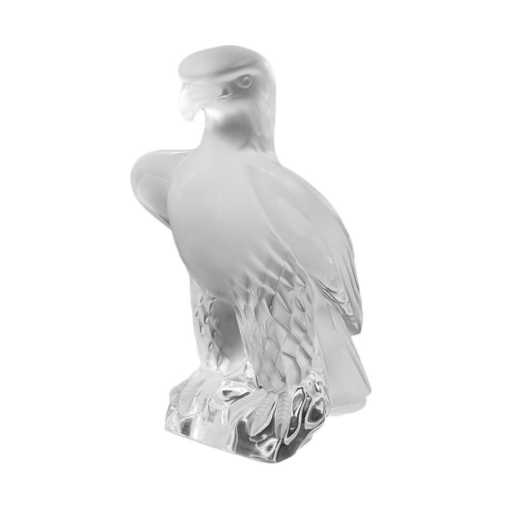 Lalique Crystal Liberty Eagle Figurine