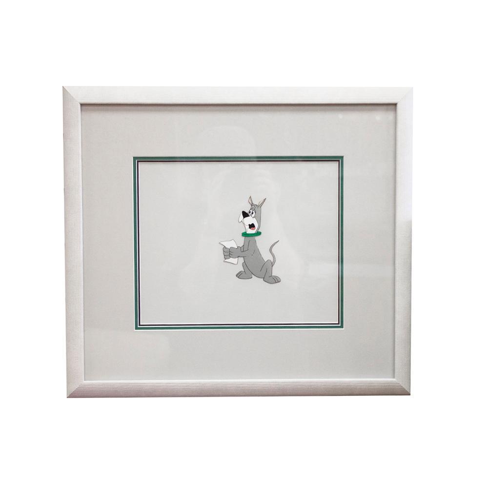 Astro Cartoon Framed Print