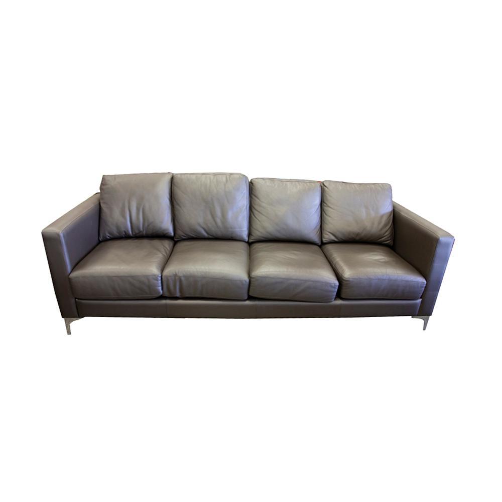American Leather Taupe Sofa