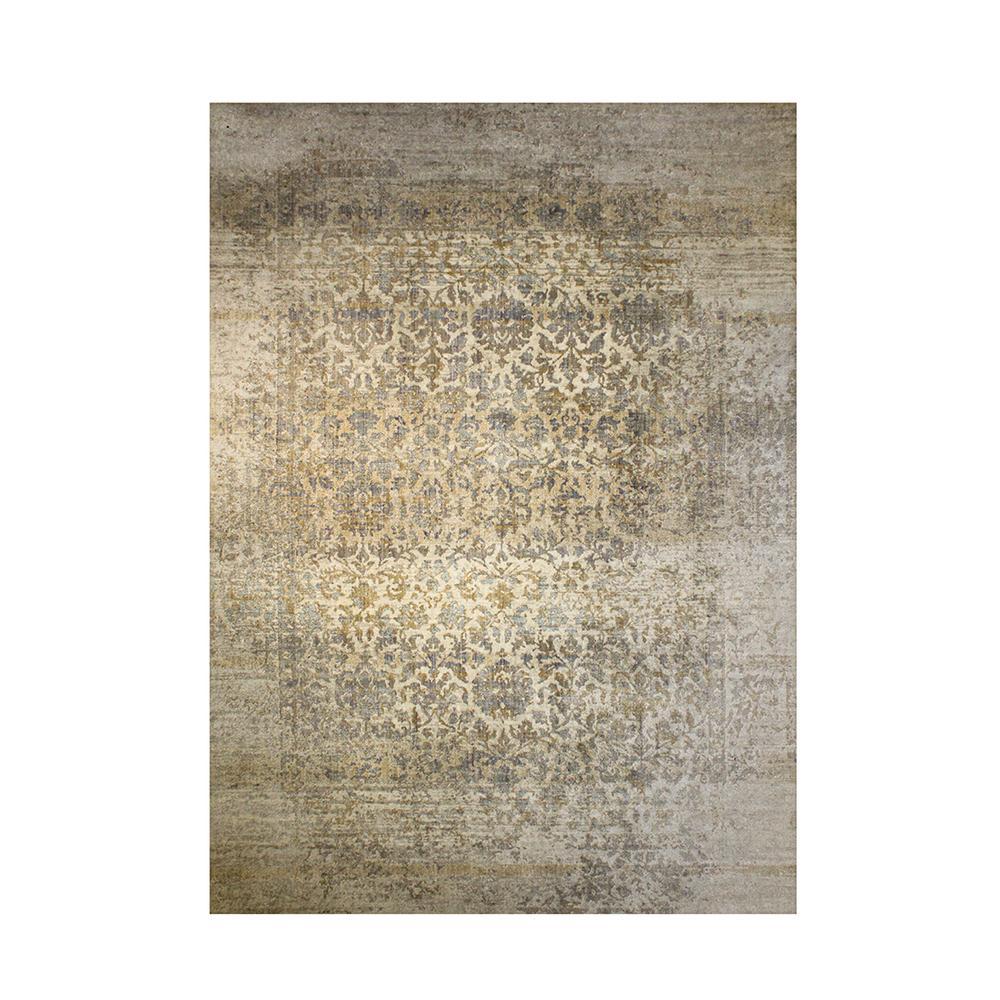 Magnolia Grey Print Rug