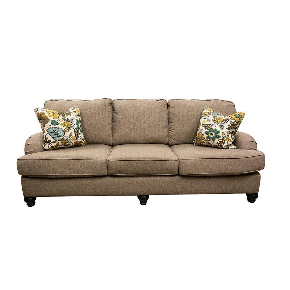 Ashley Roll Arm Sofa