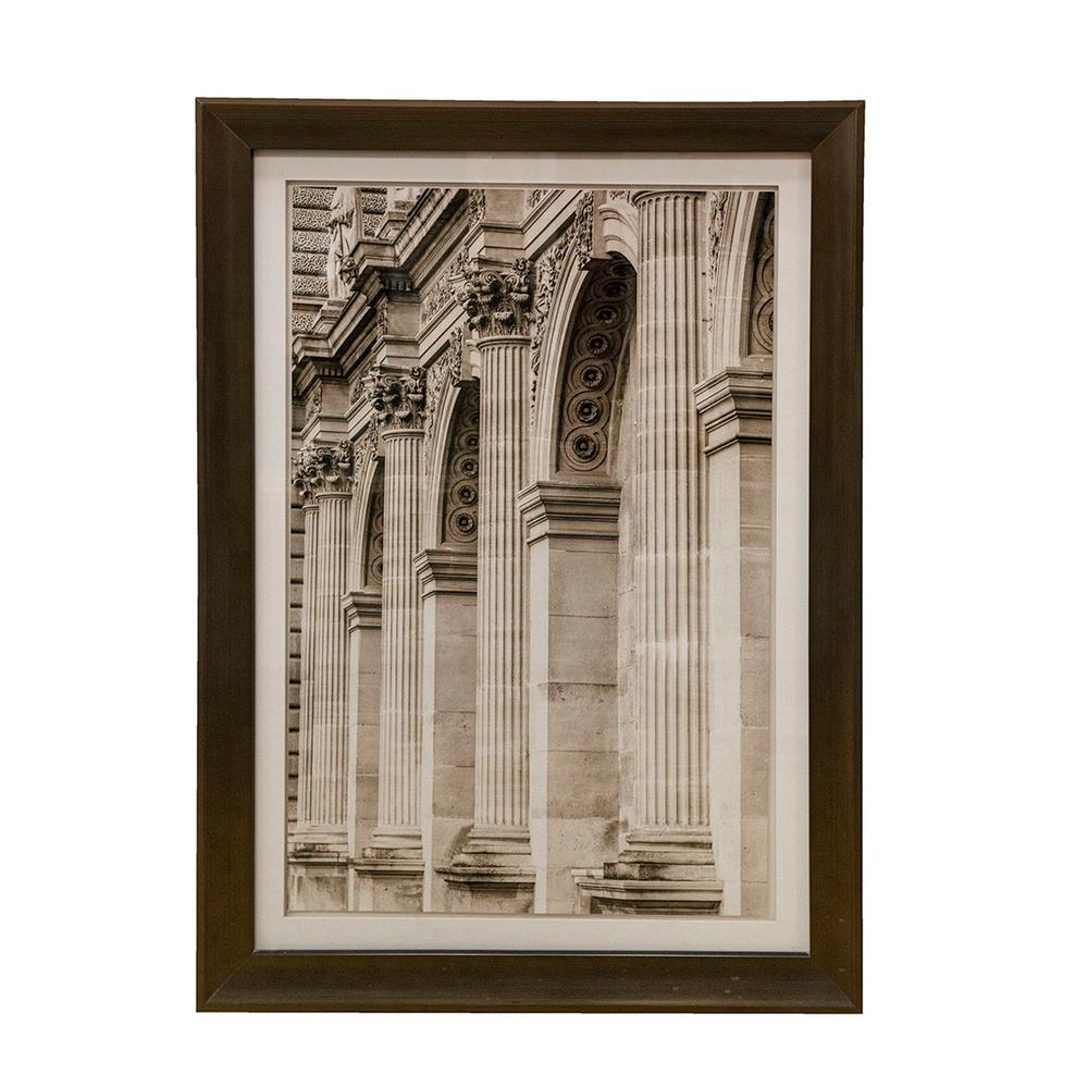 Living Spaces Parisian Columns Print