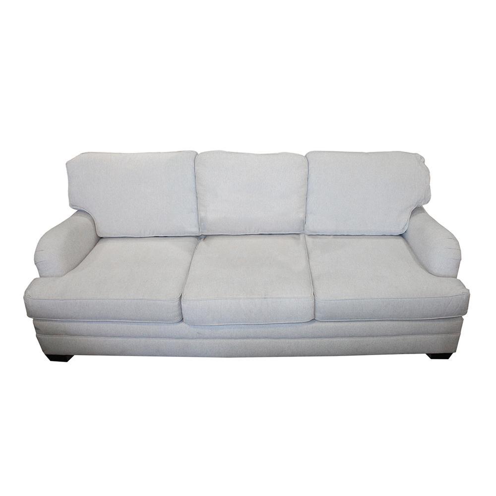 Fabric Roll Arm Sofa