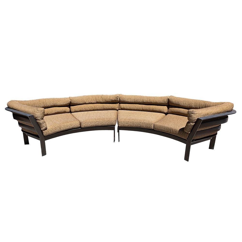 2 Piece Parkway Curvilinear Sofa