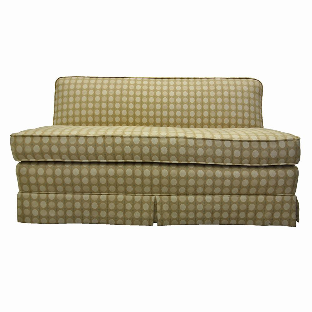 Fabric Settee Love Seat