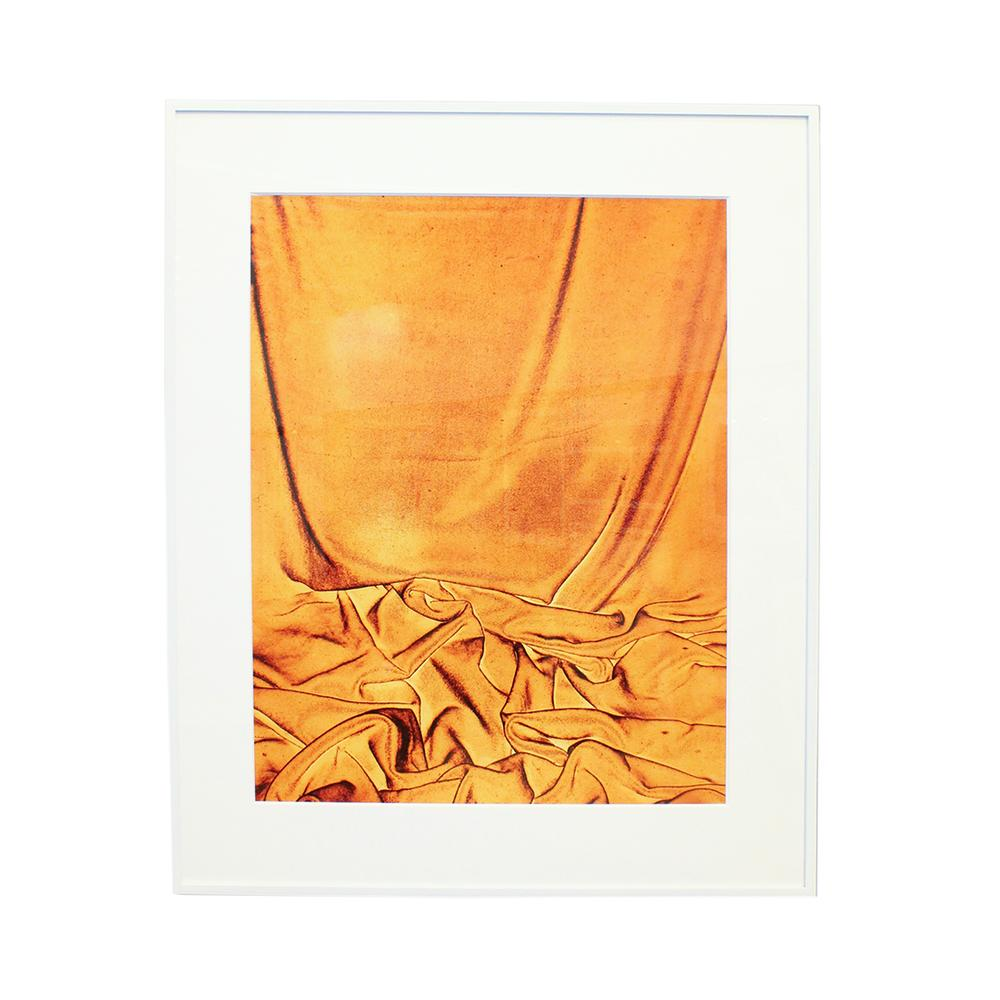 James Welling Orange Chromogenic Photo Print