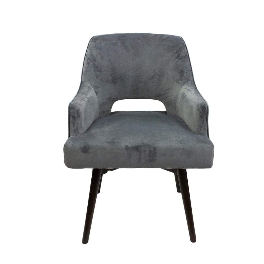 Jason Furn Grey Swivel Chair