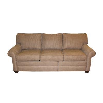 Ethan Allen Crosshatch Sleeper Sofa