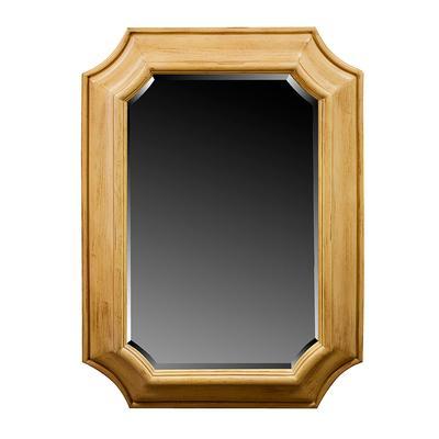Beveled Wide Frame Mirror