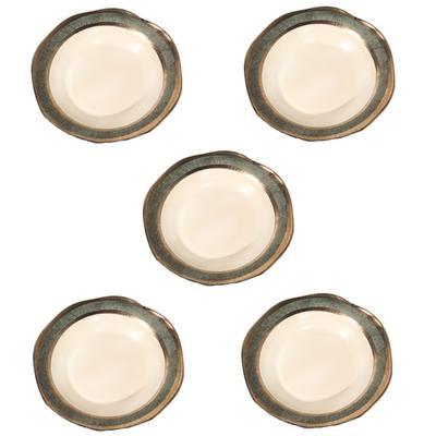 5 Wainwright Trim Dinner Plates