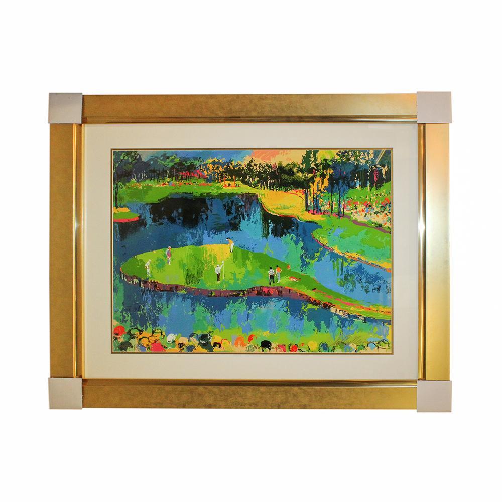 Leroy Neiman ' Island Hole ' Framed Print