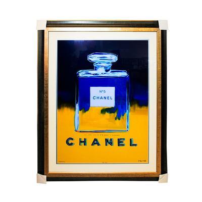 Andy Warhol 'Chanel No. 5' Framed Print