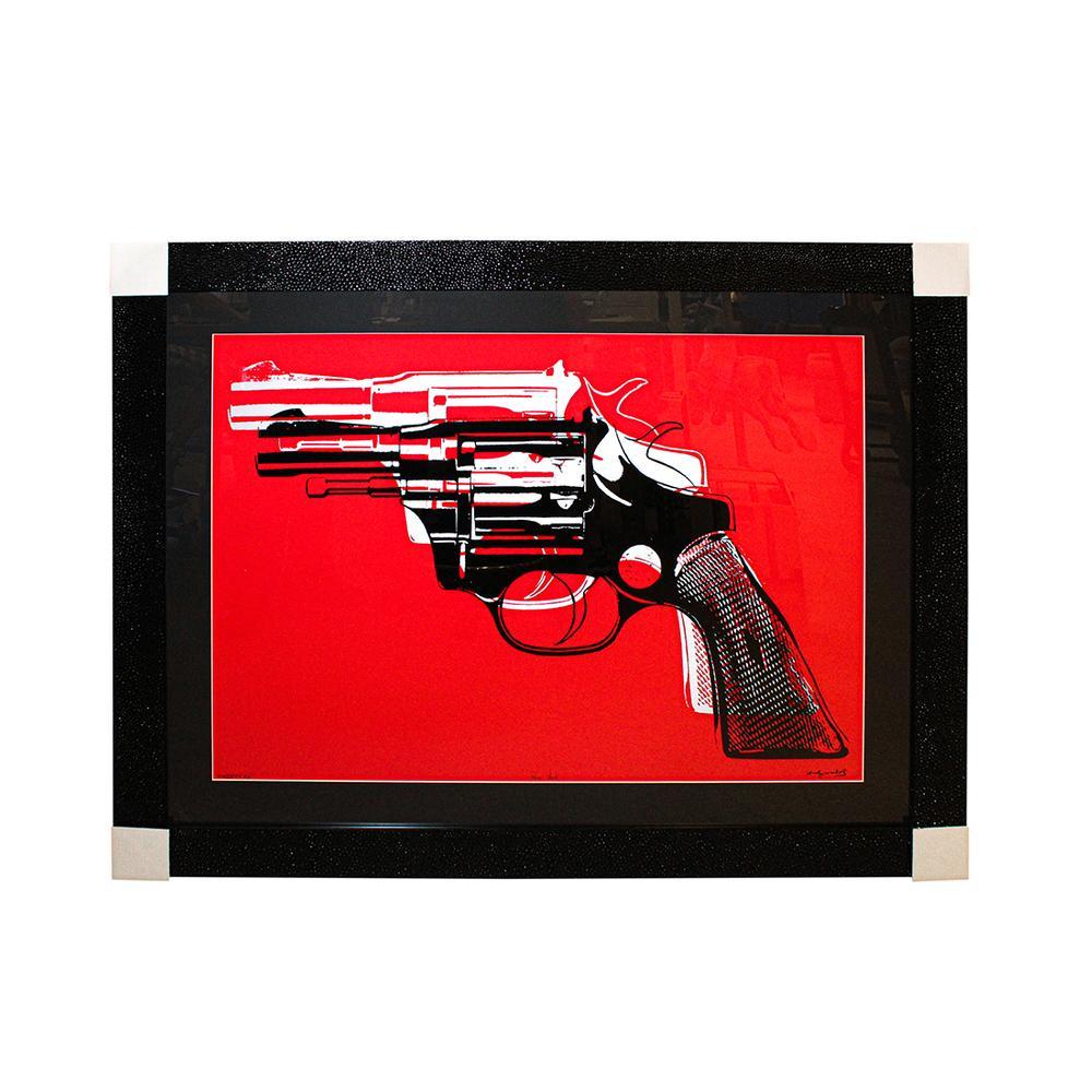 Andy Warhol ' Guns ' Framed Print