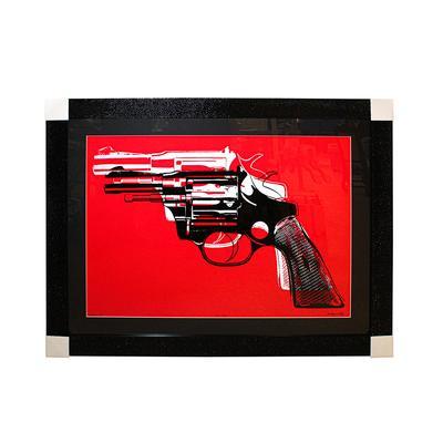 Andy Warhol 'Guns' Framed Print