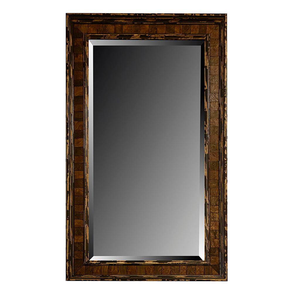 Mixed Wood Frame Mirror
