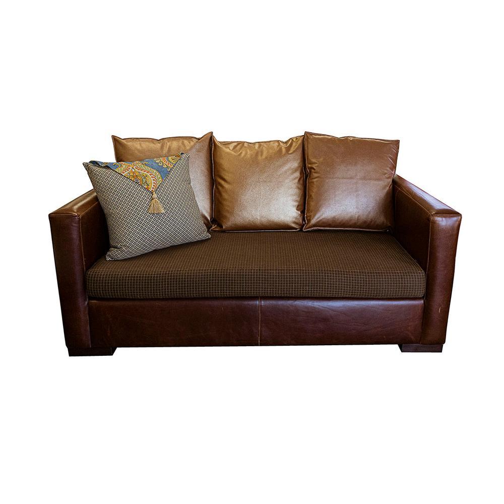 Seating Resource Leather Sofa