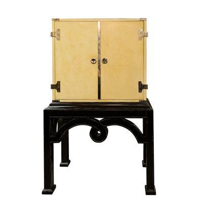 Modern History 2 Tone History Bar Cabinet