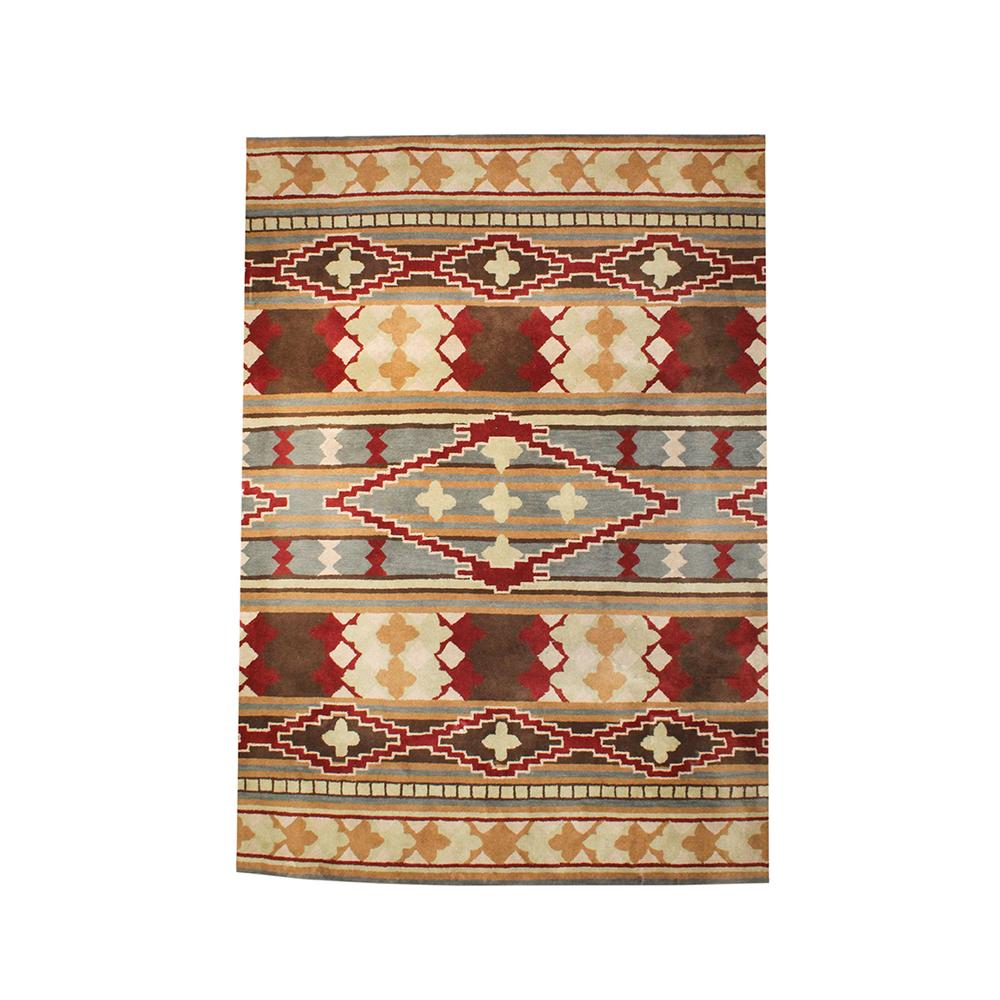 Southwestern Pattern Surya Wool Rug