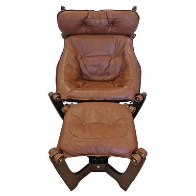 IMG Luna Chair w/ Ottoman