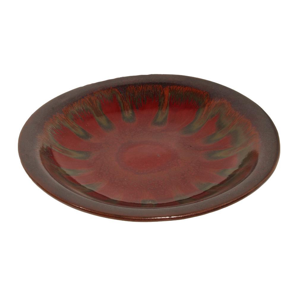 Hand Thrown Ceramic Platter Bowl
