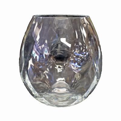Orrefors Crystal Dizzy Diamond Vase