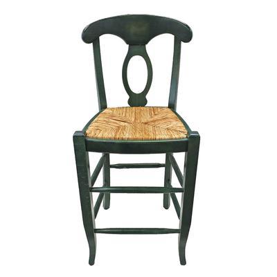 Pottery Barn Rush Seat Barstool