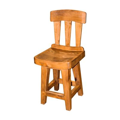 Single Wooden Barstool